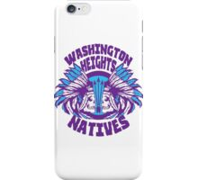 Washington Heights Natives (AQUA/VIOLET) iPhone Case/Skin