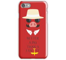 Porco's Wisdom iPhone Case/Skin