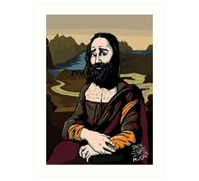 The Mona Lisa Art Print