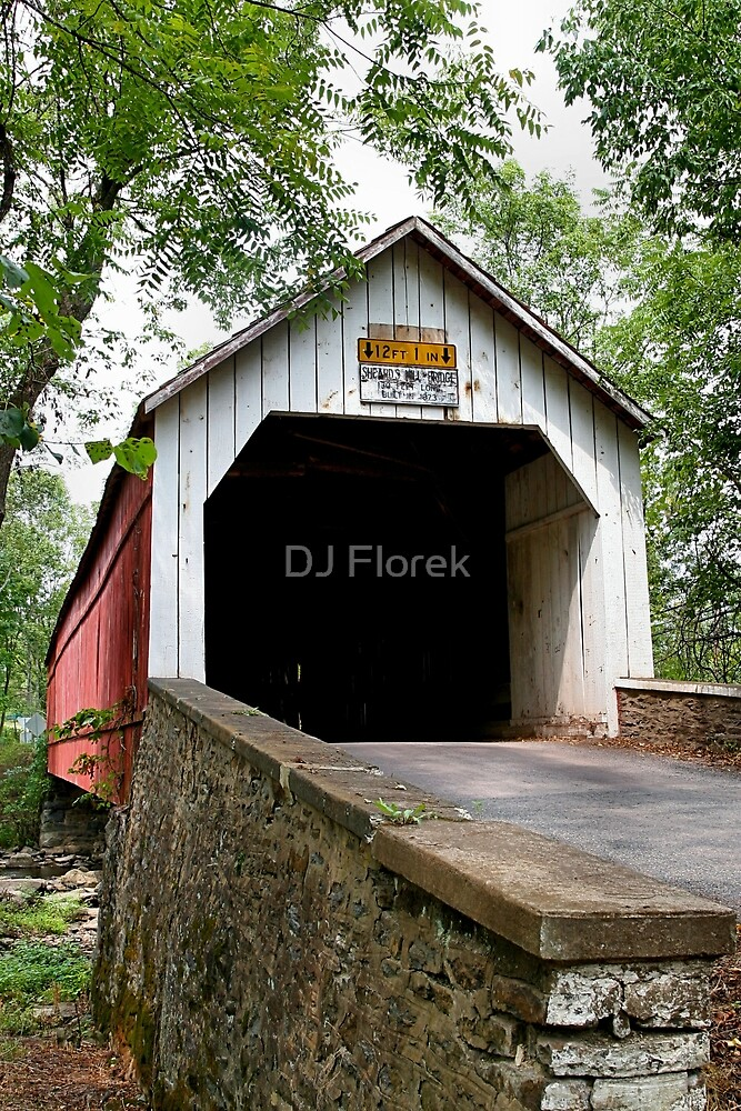 Sheards Mill Bridge by DJ Florek