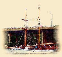 STV Pathfinder - Parade of Sail by Francis LaLonde