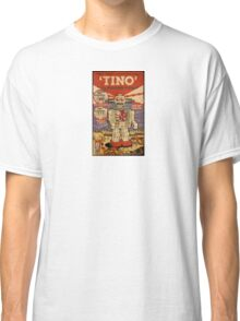 Tino the Heart Operated Toy Robot (Vintage) Classic T-Shirt