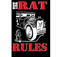 The Rat Rules - Poster Photographic Print