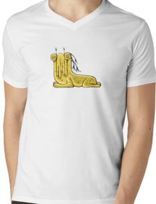 Fantasy Cute Monster Character Mens V-Neck T-Shirt