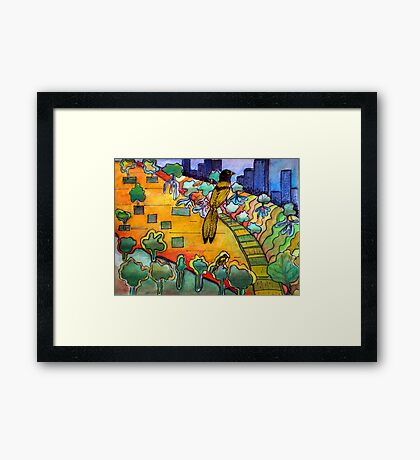 They Paved Paradise  Framed Print