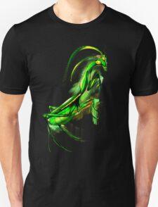 Praying Mantis Doodle Art Unisex T-Shirt