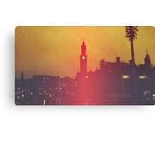 Surreal City Silhouette Canvas Print