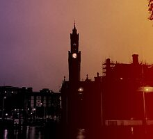 Rainbow City Silhouette by Tally94