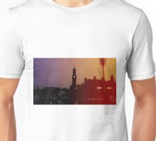 Rainbow City Silhouette Unisex T-Shirt
