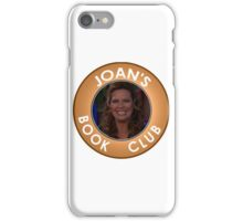 Joan Callamezzo's book club. iPhone Case/Skin