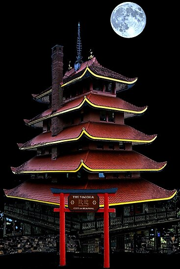 Pagoda - Reading Pa. by DJ Florek