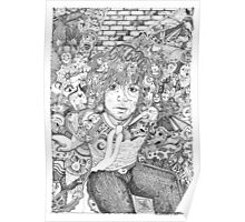 "Syd ""Mr Floyd"" Barrett Poster"