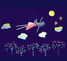 We all need a dream by JoAnnFineArt