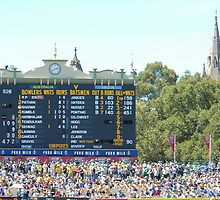 The Adelaide Oval - The Cathedral End by JimBob51