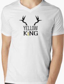 The Yellow King Mens V-Neck T-Shirt