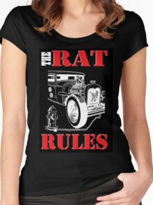The Rat Rules - T-Shirt Women's Fitted Scoop T-Shirt