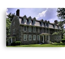 Whitefield House Canvas Print