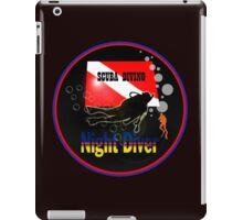 Night Diver iPad Case/Skin