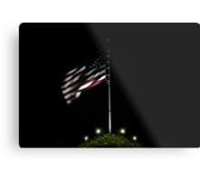 USA Night Flag Metal Print