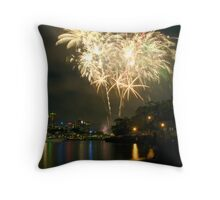 Sydney NYE 07 Throw Pillow