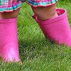 *Pink Rain Boots* by Darlene Lankford Honeycutt