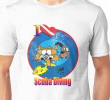 I Love Scuba Diving Unisex T-Shirt