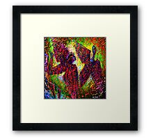 """"""" We cannot seize him: the happiness has wings. """" Framed Print"""