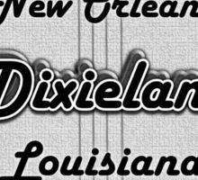 Vintage Dixieland Banjo Sticker