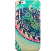 surf mandala iPhone Case/Skin