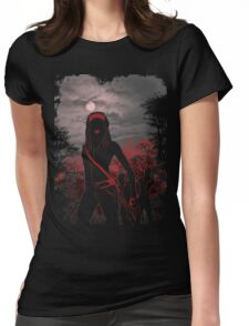 survival instinct Womens Fitted T-Shirt
