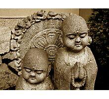 kyoto statues Photographic Print