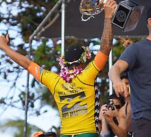 New World Surfing Champion by kevin smith  skystudiohawaii
