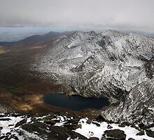 Carrauntoohil winter view by John Quinn