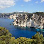 Zakynthos cliffs  by John Quinn