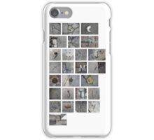 Found Alphabet iPhone Case/Skin