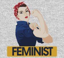 Rosie Riveter Feminist Baby Tee
