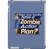 Zombie Action Plan iPad Case/Skin