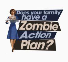 Zombie Action Plan Kids Clothes