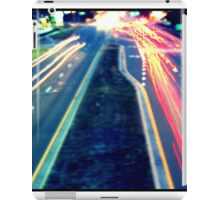 Long Exposure Street Scene. iPad Case/Skin