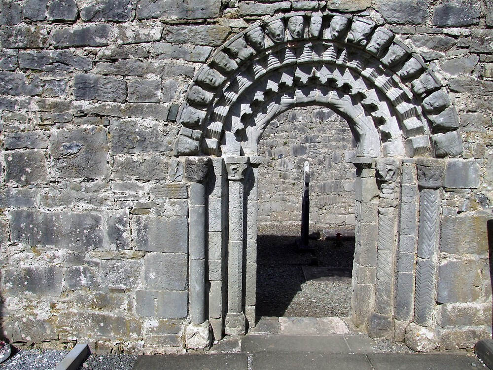 Dysart O Dea church arch by John Quinn