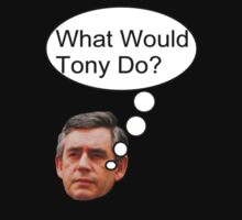 "Gordon Brown: ""What would Tony do?"" by Sam Mortimer"