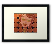Odds Are You're Not in My Leaugue Framed Print