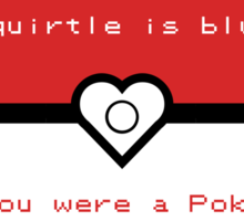 Pokemon inspired valentine. Sticker