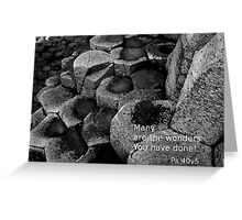 Causeway Stone Greeting Card