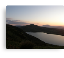 Muckish Mountain  -  Co. Donegal Ireland  Canvas Print