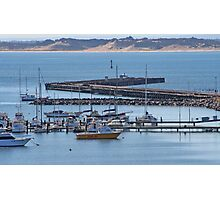 Bunbury harbor Photographic Print