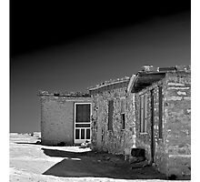 White Screen Door Photographic Print