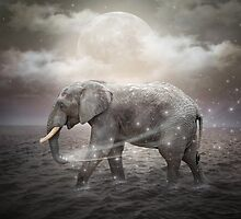 May the Stars Carry Your Sadness Away (Elephant Dreams) by soaringanchor