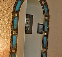 Old Tiffany Jewel Mirror by David DeWitt