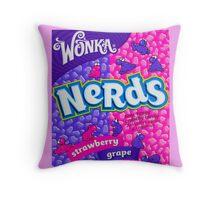 Nerds Candy Throw Pillow